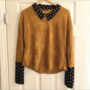 Sweaters - Collared sweater